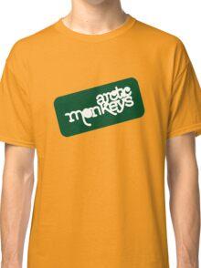 Arctic Monkeys - Green logo Classic T-Shirt