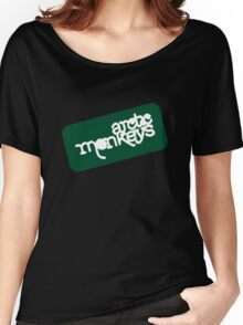 Arctic Monkeys - Green logo Women's Relaxed Fit T-Shirt