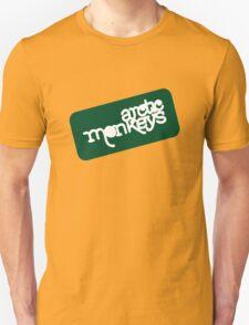 Arctic Monkeys - Green logo Unisex T-Shirt