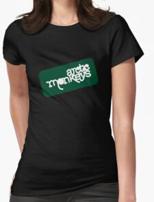 Arctic Monkeys - Green logo Womens Fitted T-Shirt