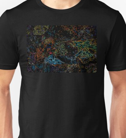 Leaves Aglow - Water Below Unisex T-Shirt