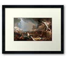 The Course of Empire: Destruction by Thomas Cole (1836) Framed Print
