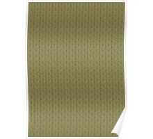 Cast-on stitches: Neutral Green Poster