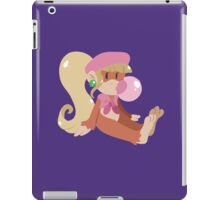 Lineless Bubblegum Dixie Kong iPad Case/Skin