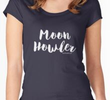 Moon Howler Women's Fitted Scoop T-Shirt