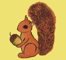 Squirrel Kids Tee