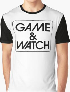 Game & Watch Logo Graphic T-Shirt
