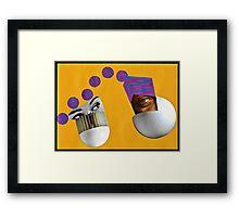 Harmonic Oscillator Framed Print