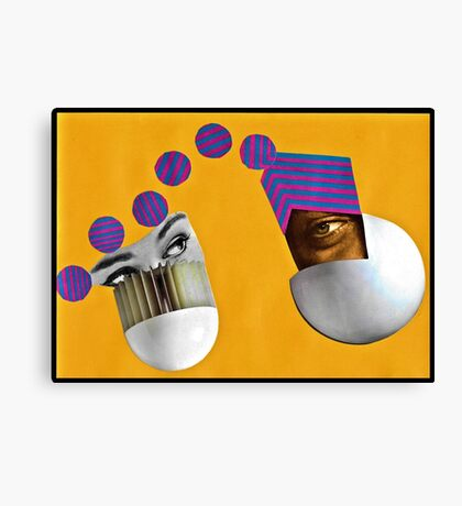 Harmonic Oscillator Canvas Print