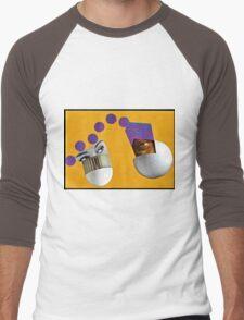 Harmonic Oscillator Men's Baseball ¾ T-Shirt