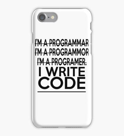 Programmer joke iPhone Case/Skin