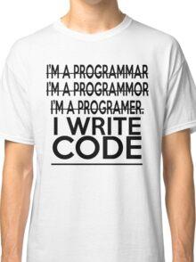 Programmer joke Classic T-Shirt