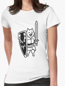 Dog from Undertale Womens Fitted T-Shirt