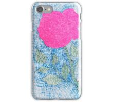 Pen and Ink Vibrant Rose iPhone Case/Skin