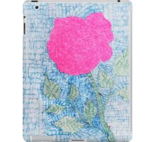 Pen and Ink Vibrant Rose iPad Case/Skin