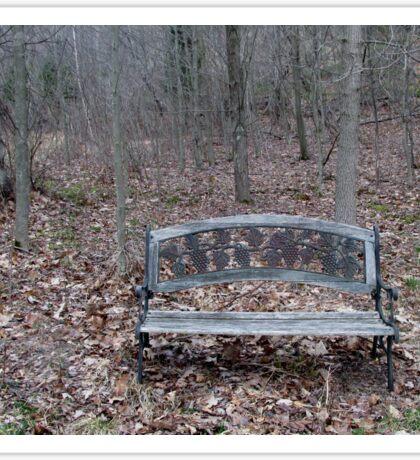 bench Sticker
