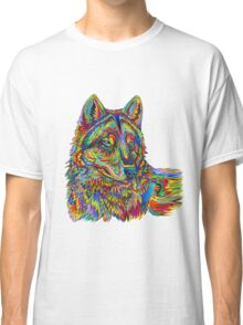 Psychedelic Wolf Classic T-Shirt