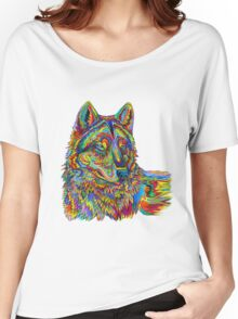 Psychedelic Wolf Women's Relaxed Fit T-Shirt