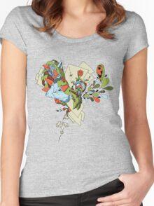 Flourish Women's Fitted Scoop T-Shirt