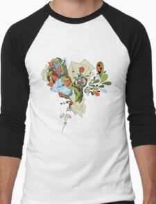 Flourish Men's Baseball ¾ T-Shirt