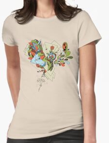 Flourish Womens Fitted T-Shirt