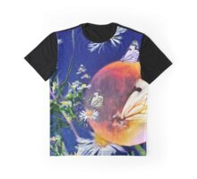 Moments In Time 1- Butterfly Collage Graphic T-Shirt