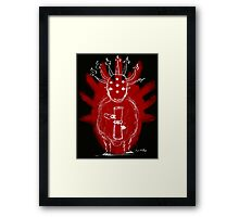 Seven Horns and Seven Eyes 2 Framed Print