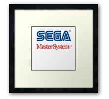 Sega Master System Logo Framed Print