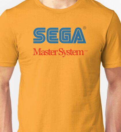 Sega Master System Logo Unisex T-Shirt