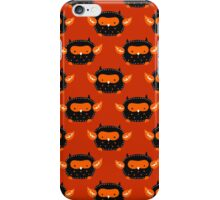 Cutesy Halloween Owl Pattern iPhone Case/Skin