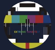 Extreme tone test pattern with colour Kids Tee