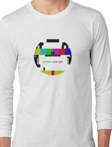 Extreme tone test pattern with colour Long Sleeve T-Shirt
