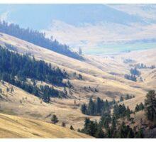 Pristine Panorama- National Bison Range, Montana Sticker