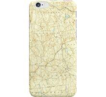 USGS TOPO Map Connecticut CT Gilead 331025 1892 62500 iPhone Case/Skin