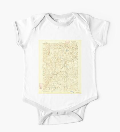 USGS TOPO Map Connecticut CT Gilead 331025 1892 62500 One Piece - Short Sleeve