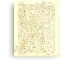 USGS TOPO Map Connecticut CT Gilead 331025 1892 62500 Metal Print