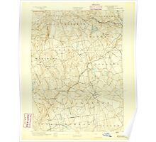 USGS TOPO Map Connecticut CT Gilead 331025 1892 62500 Poster