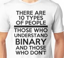 Binary joke Unisex T-Shirt