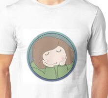 Imaginary girl in turquoise  Unisex T-Shirt