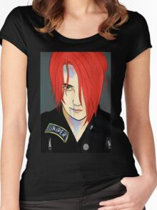 Gerard Way/Party Poison Women's Fitted Scoop T-Shirt