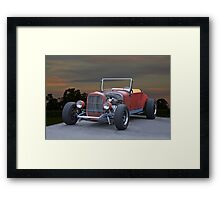 1923 Ford Roadster 'In Process' Framed Print