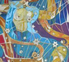 Five Stars of the Night Queen Sticker