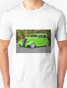 1935 Oldsmobile Two Door Sedan Unisex T-Shirt