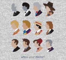 Who's Your Doctor? One Piece - Long Sleeve