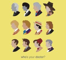 Who's Your Doctor? Baby Tee
