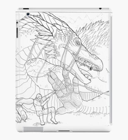Hoarding Serpent iPad Case/Skin