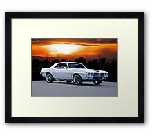 1969 Pontiac Firebird 350 Framed Print