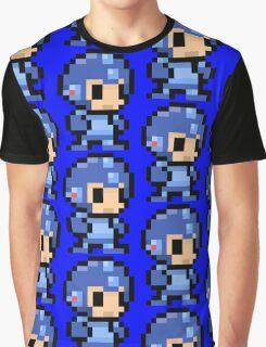 mega man pixel art Graphic T-Shirt