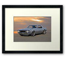 1967 Chevrolet Camaro 350 Framed Print