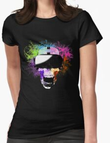 Virtual Joy Womens Fitted T-Shirt